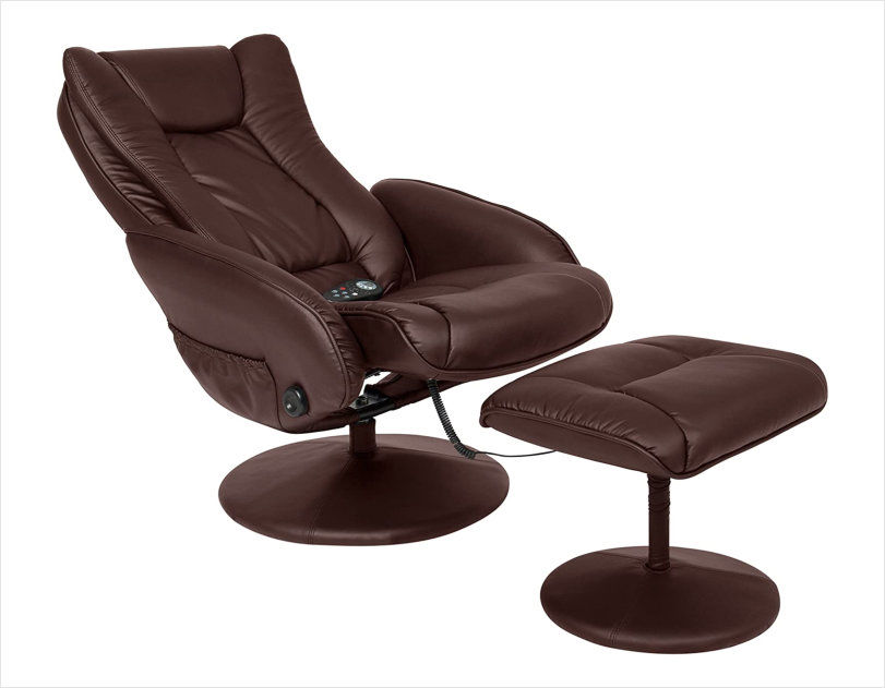 Best Choice Products PU Leather Massage Recliner