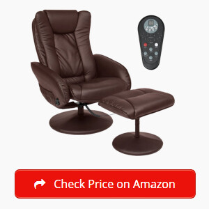 Best Choice Products PU Leather Massage Recliner Sticky