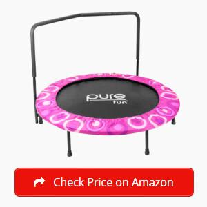 Pure Fun Super Jumper Kids Trampoline Sticky
